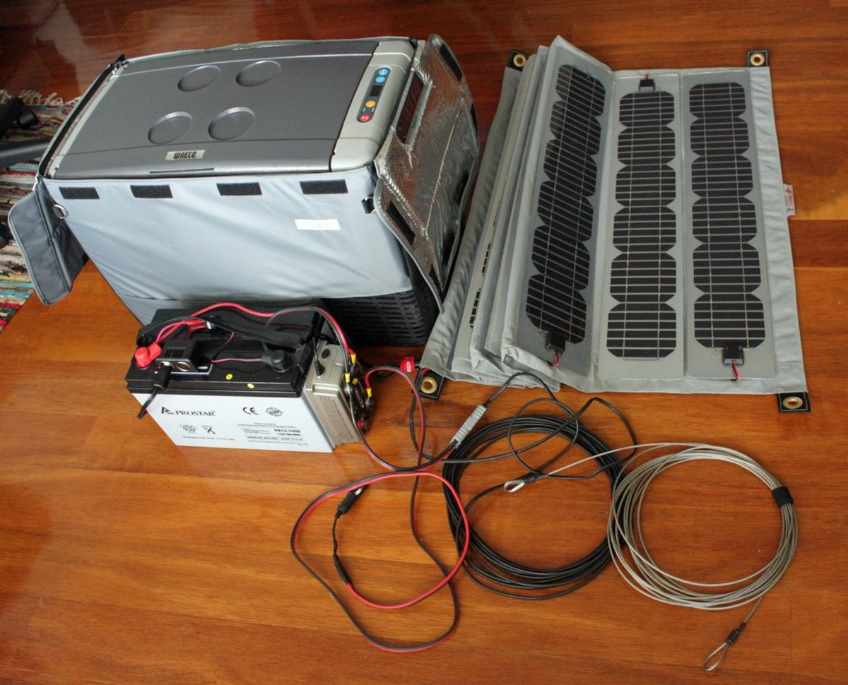 Inexpensive Power with DIY Solar Panel Kits