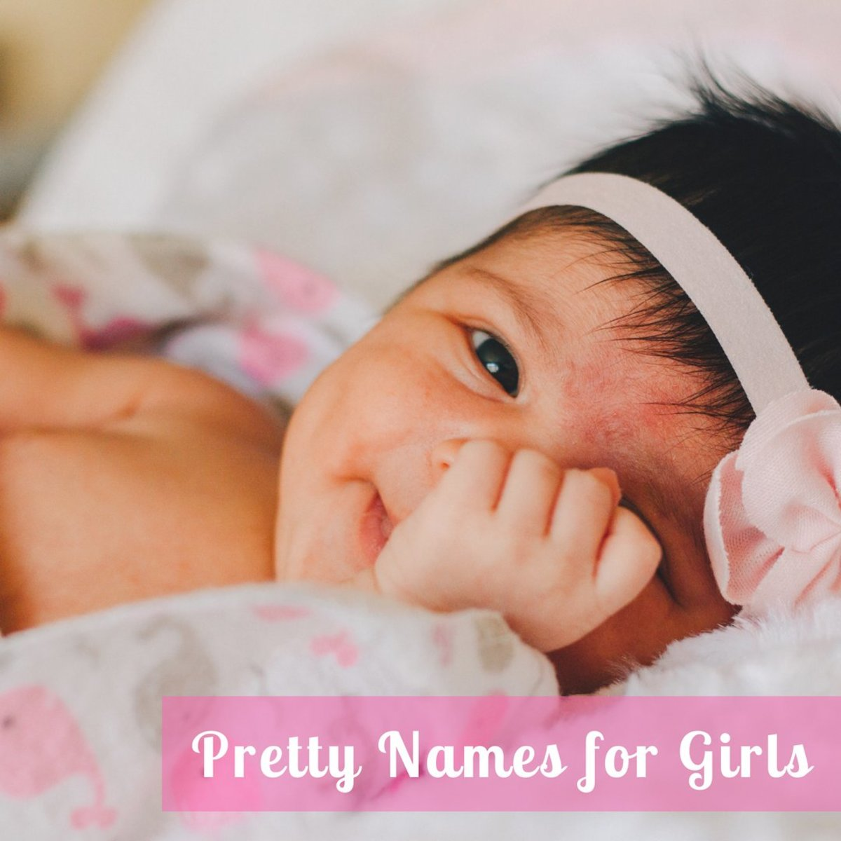 Feminine, girly baby names