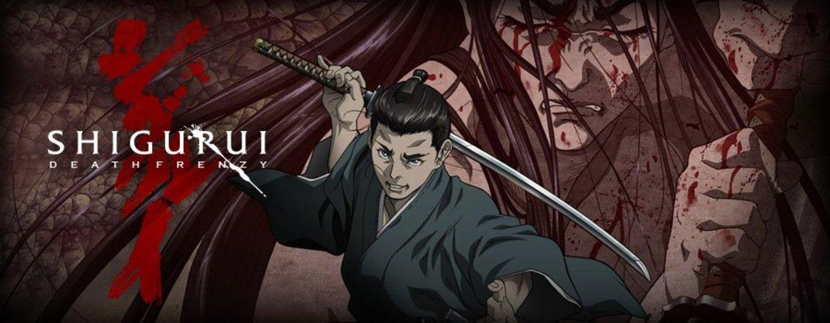Shigurui Death Frenzy in a Historical Context