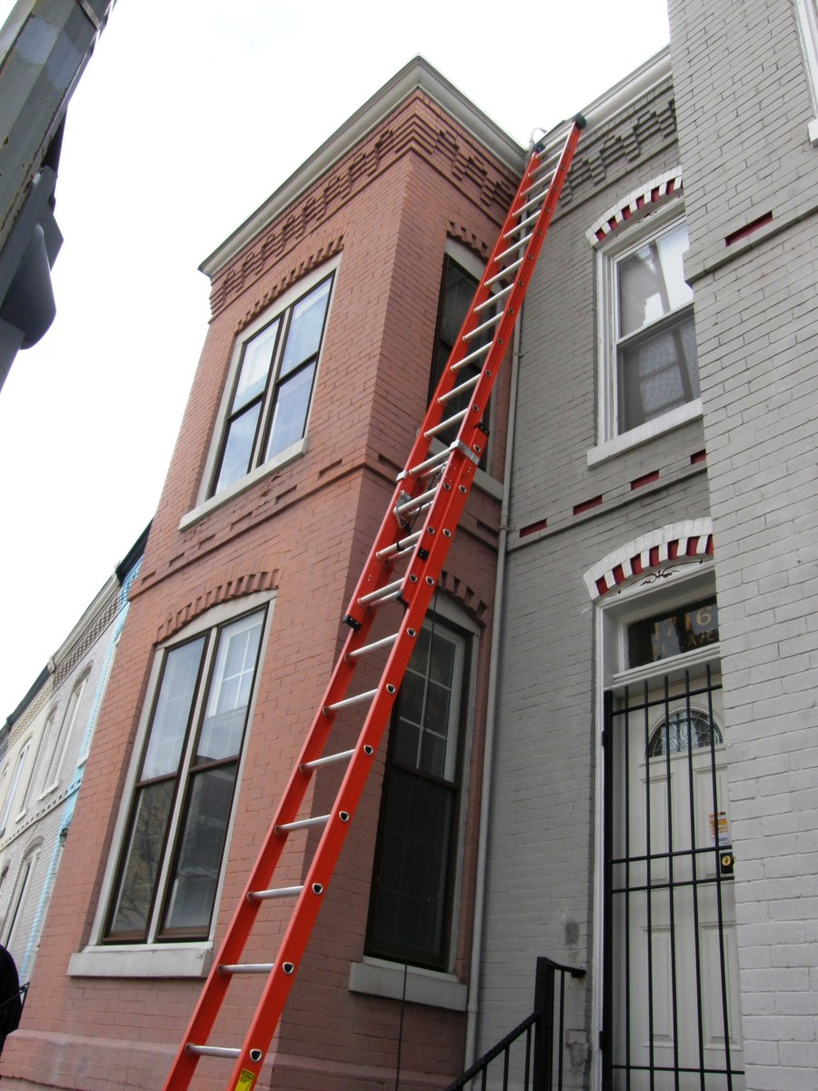 Using a Ladder Safely and How to Walk on Roofs