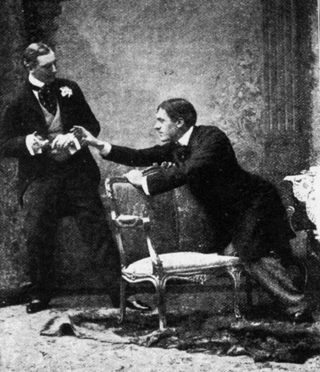 an analysis of the importance of being ernest by oscar wilde Revivals of oscar wilde's most famous comedy aren't exactly rare but while it's  often casually dismissed as an old warhorse or frivolous.