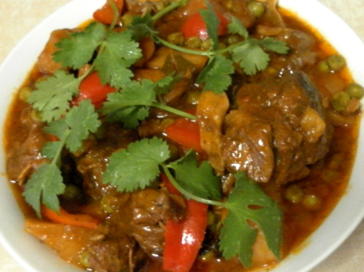 Goat Meat Caldereta Recipe