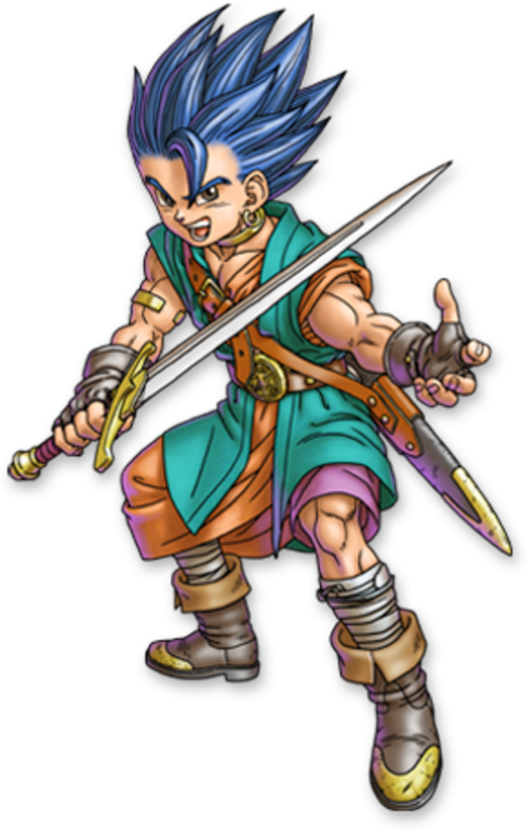 "The Hero of ""Dragon Quest VI."" Also the Prince of Somnia."