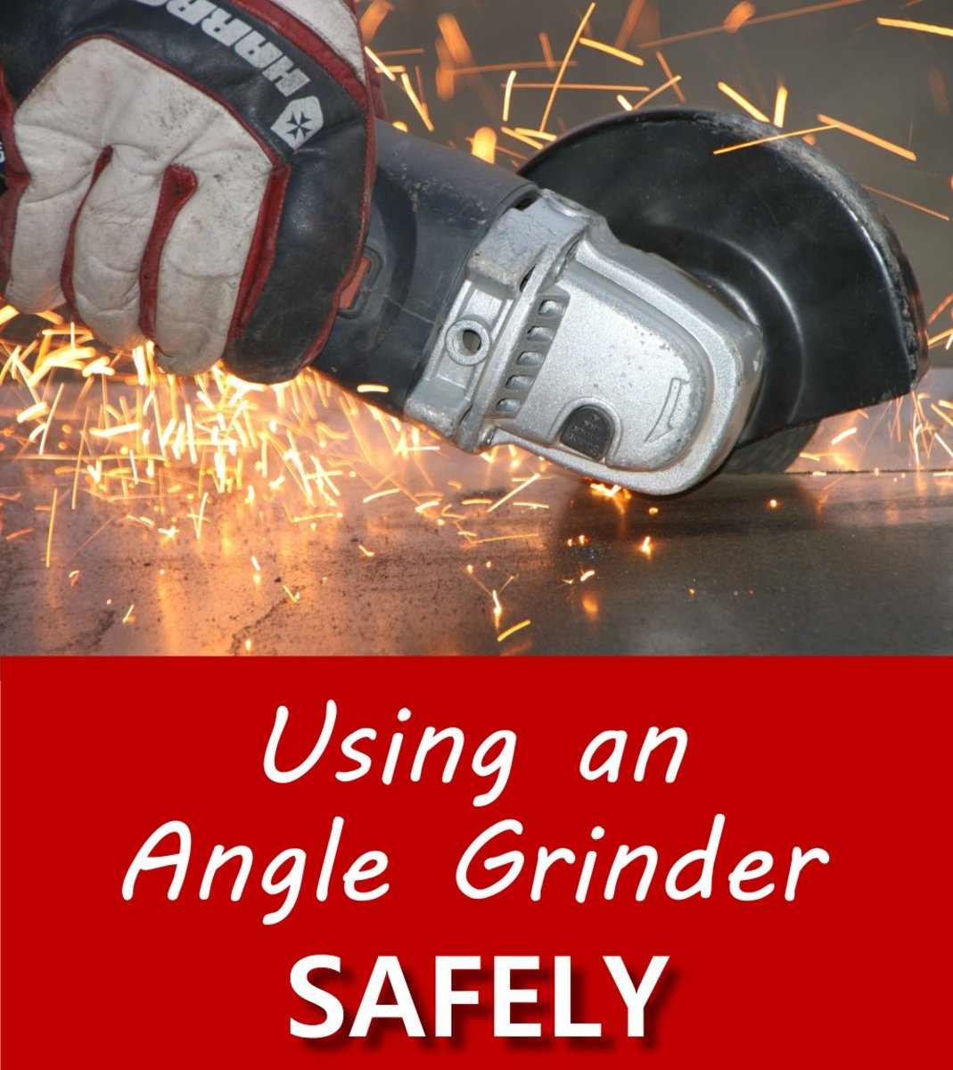 Using an Angle Grinder Safely for Cutting and Grinding