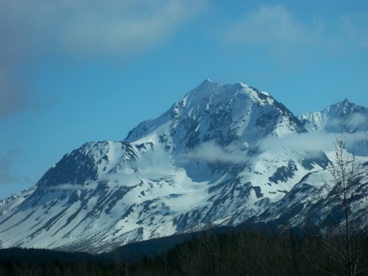 A mountain in Alaska