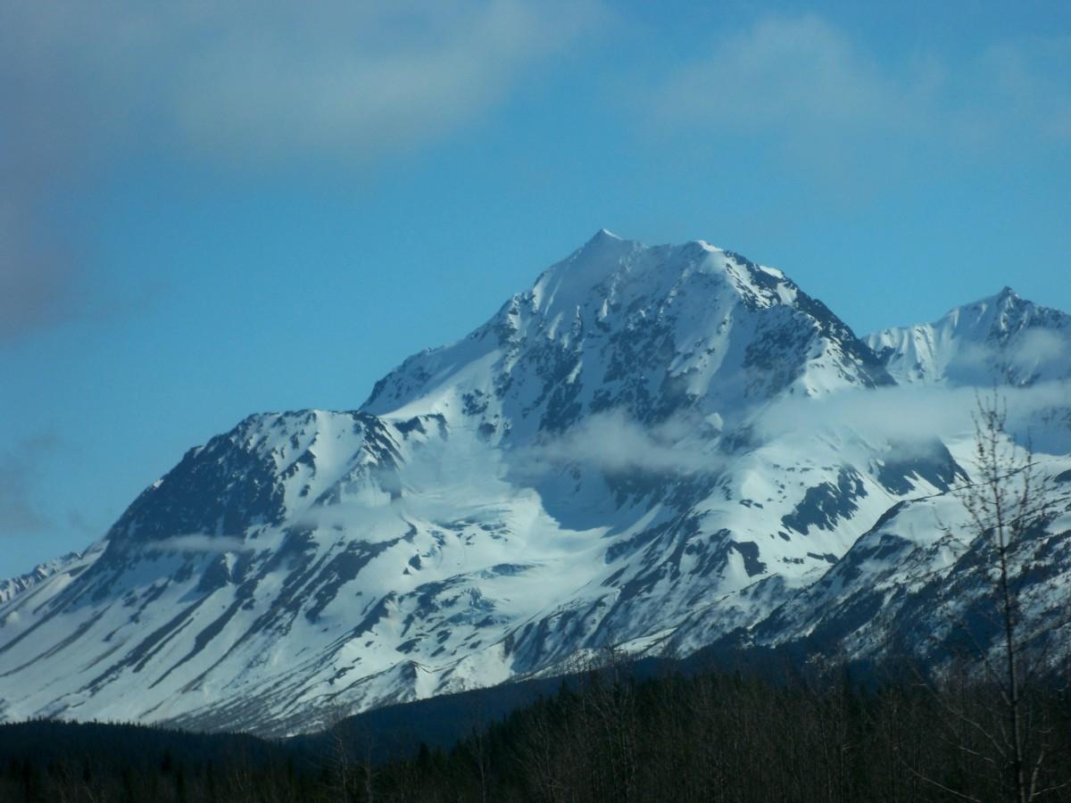 A mountain in Alaska