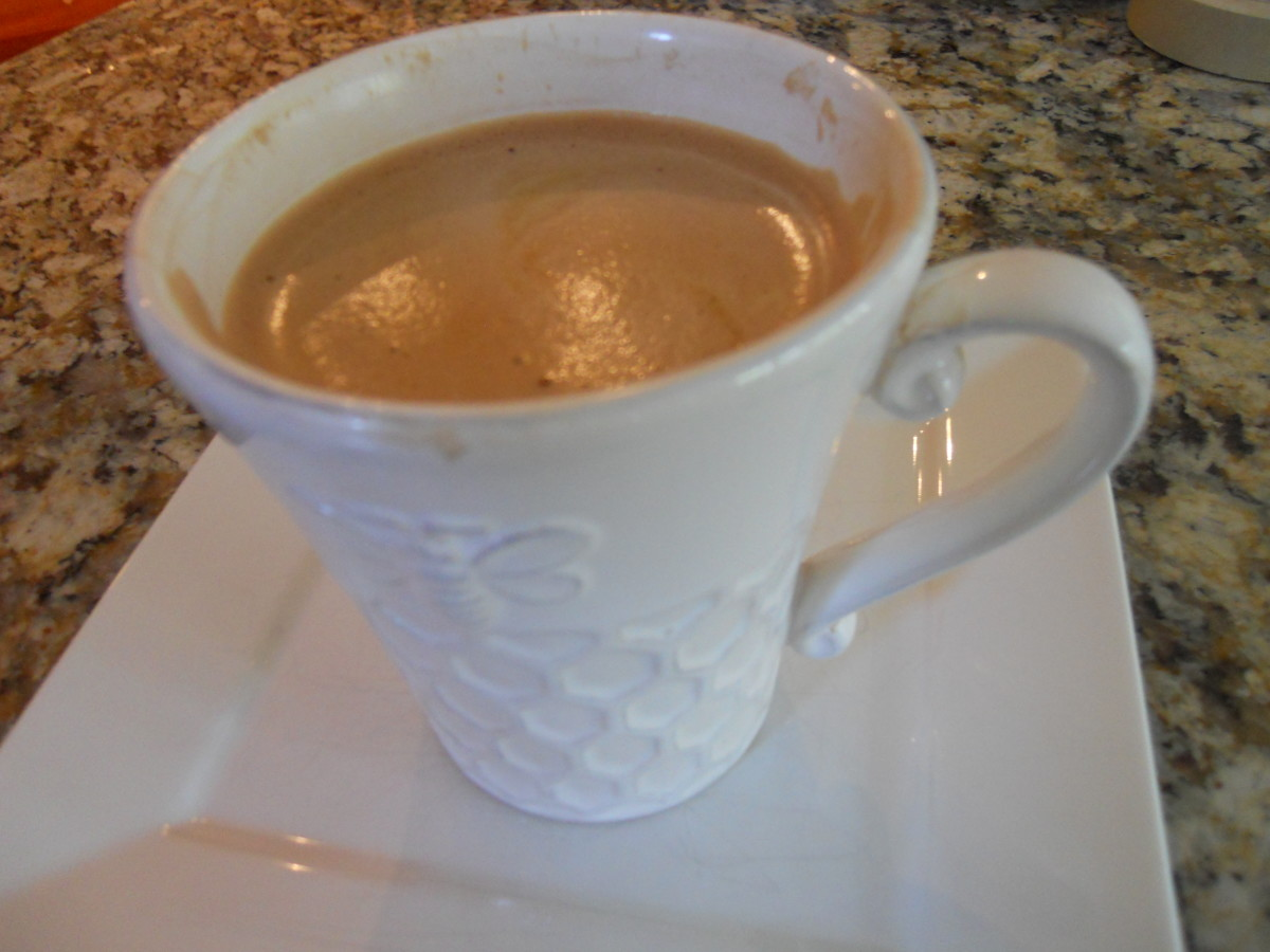 Make a cafe mocha at home