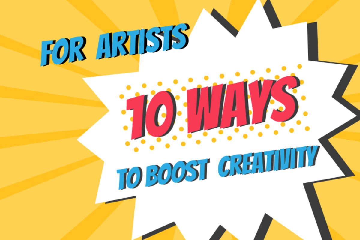 Tips on finding artistic inspiration and creative ideas