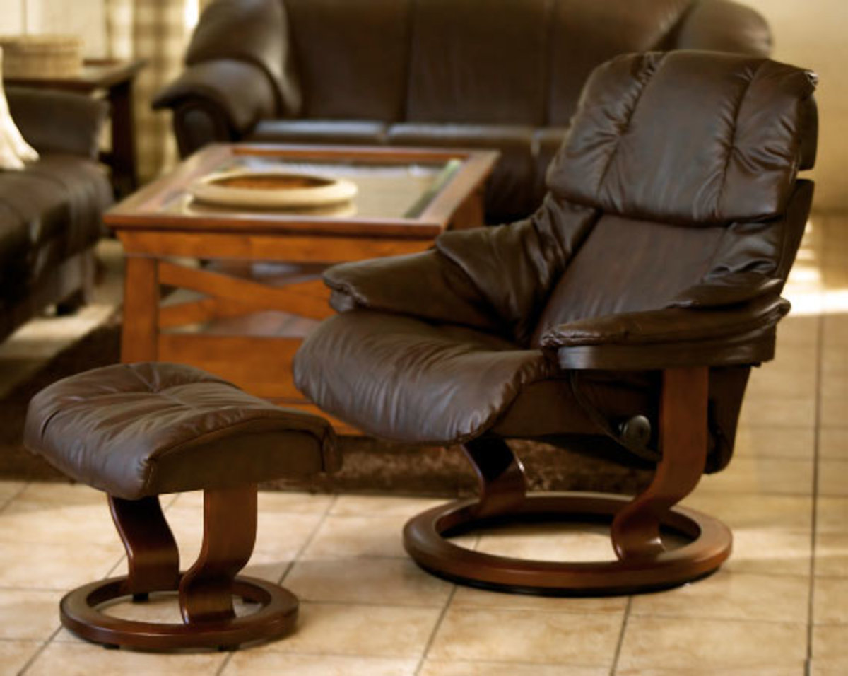 Stressless Ekornes Recliners gets a Five Star Rating from Rushing Furniture Repair.