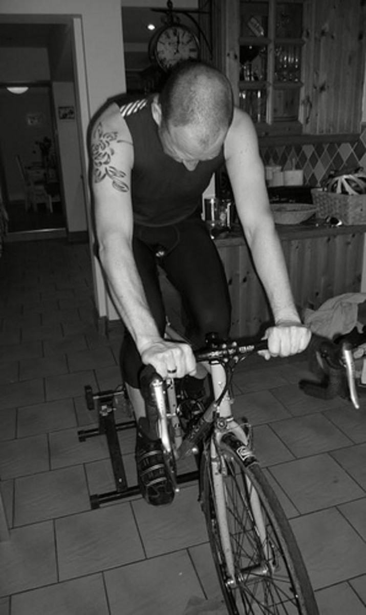 You can perform an anaerobic threshold test at home on your turbo trainer