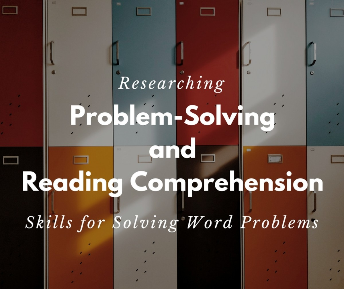 Action Research Proposal: Mathematics Problem-Solving Skill And Reading Comprehension