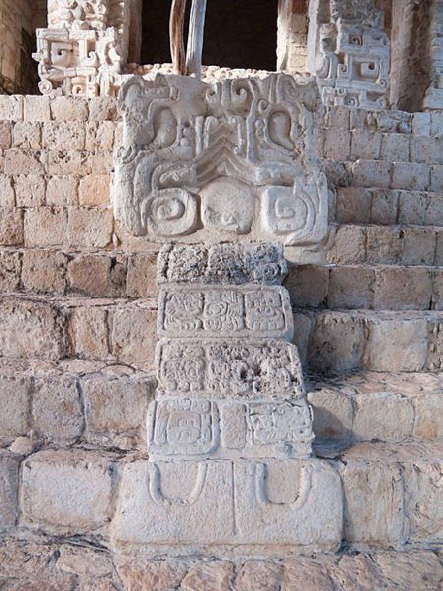 Mayan Writing on Stone