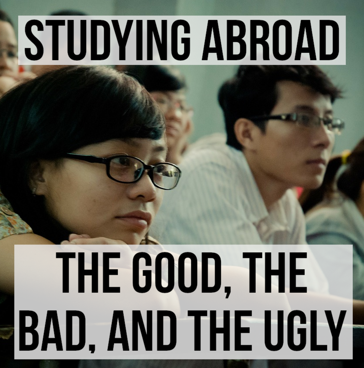 Studying abroad can bring with it many advantages, it often broadens the mind and deepens the learning experience.  There are disadvantages too, however, increased education costs, as well as language and cultural barriers to overcome, for instance.