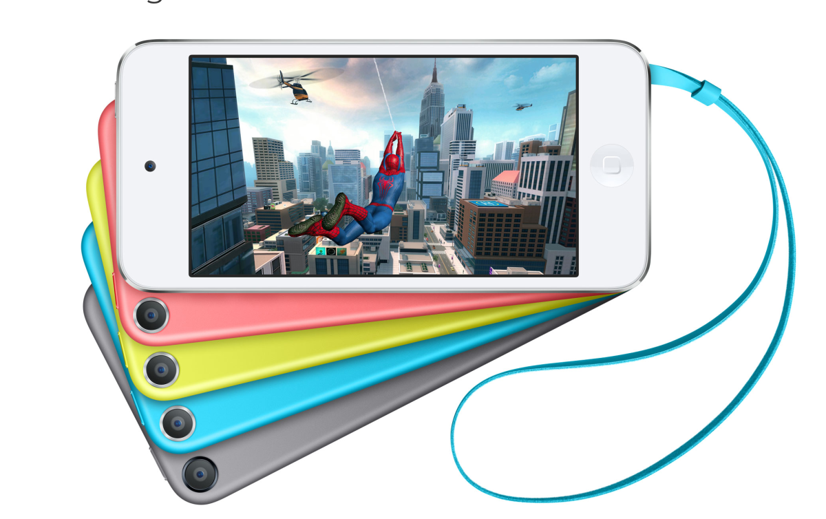 the Apple iPod Touch, 5th Generation.