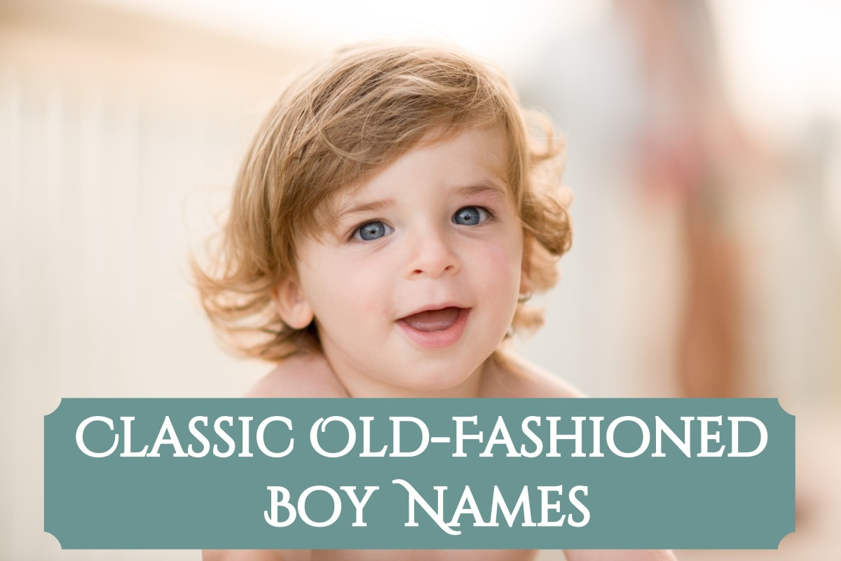 Old-timey grandpa names for boys
