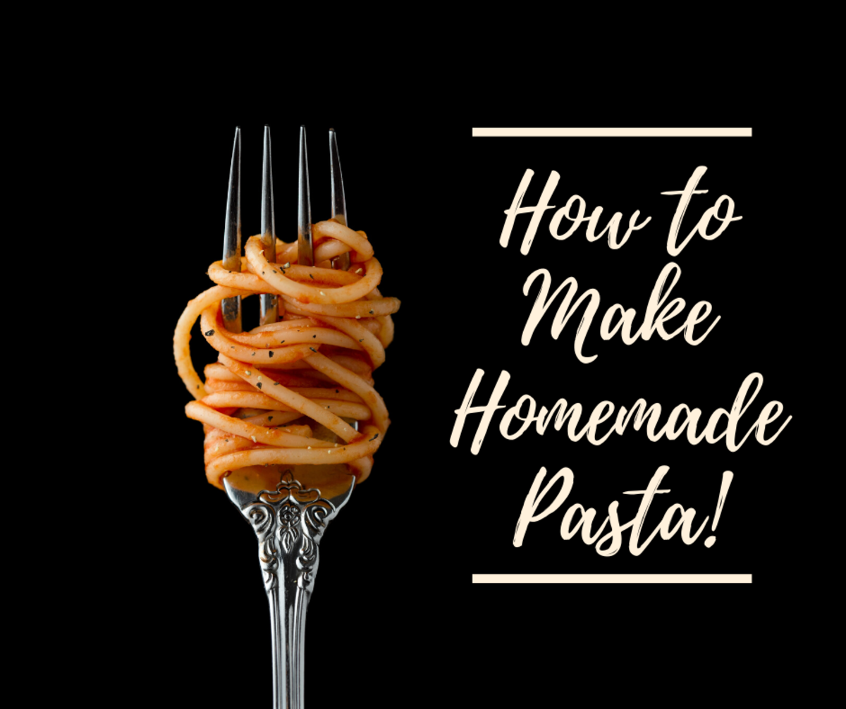 Making homemade pasta is easier than you'd think.