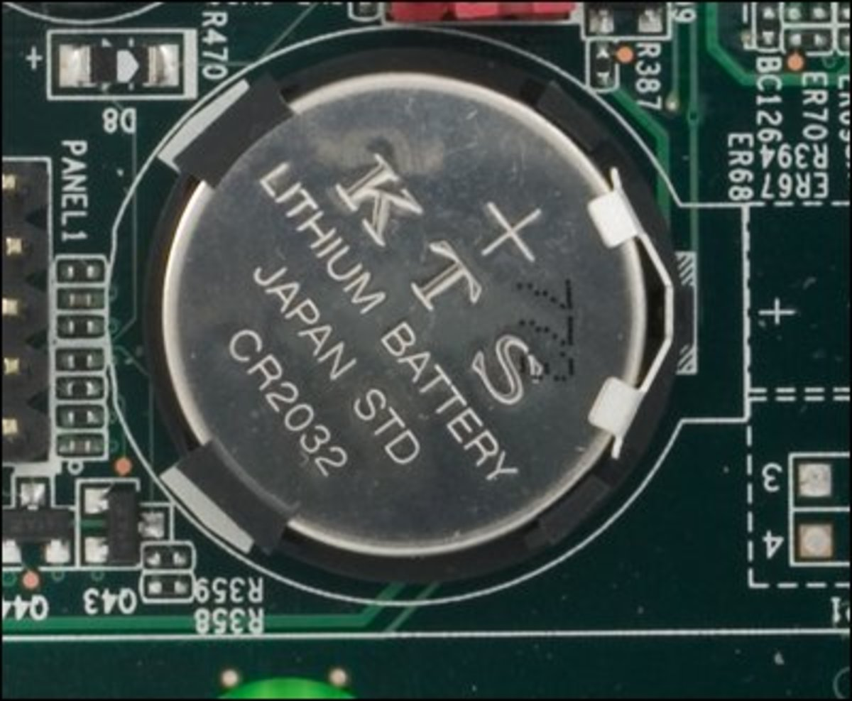 How to Replace The CMOS Battery