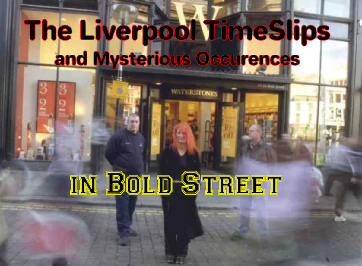 The Liverpool Time Slips and Mysterious Occurences in Bold Street