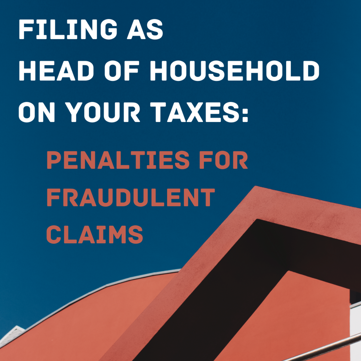 Learn why you should not try to claim the head of household status on your tax return unless you are legally entitled to it.