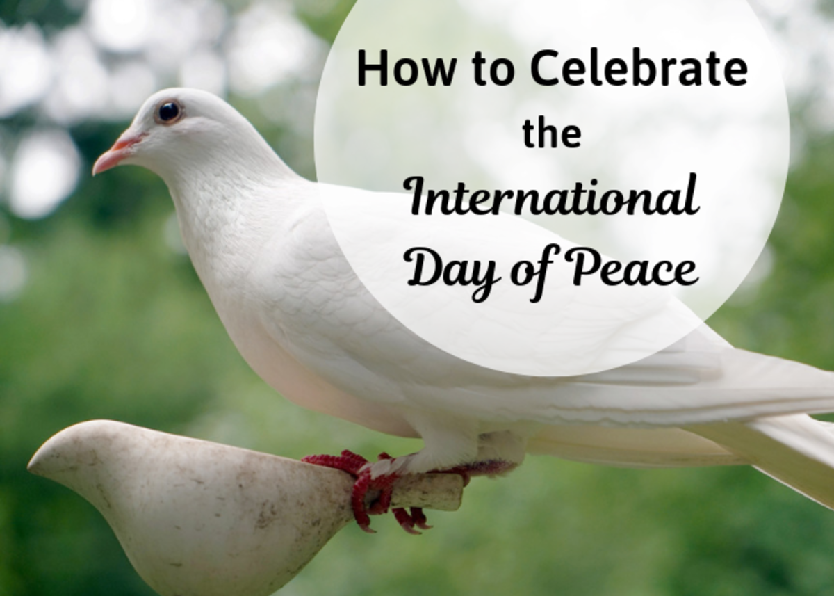 Discover some activities you can do to celebrate the International Day at Peace, whether at home, school, or work.