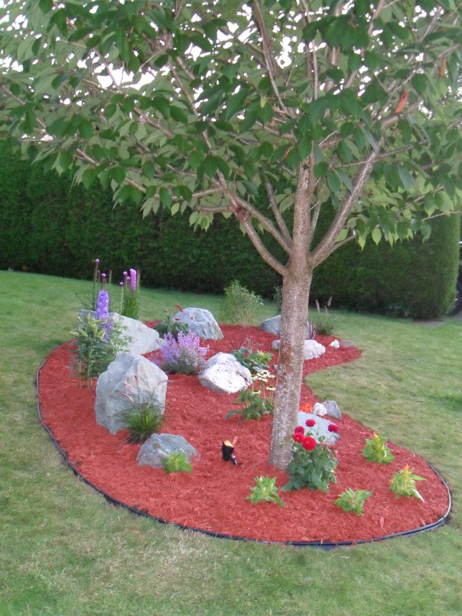 easy diy landscaping build a rock garden dengarden