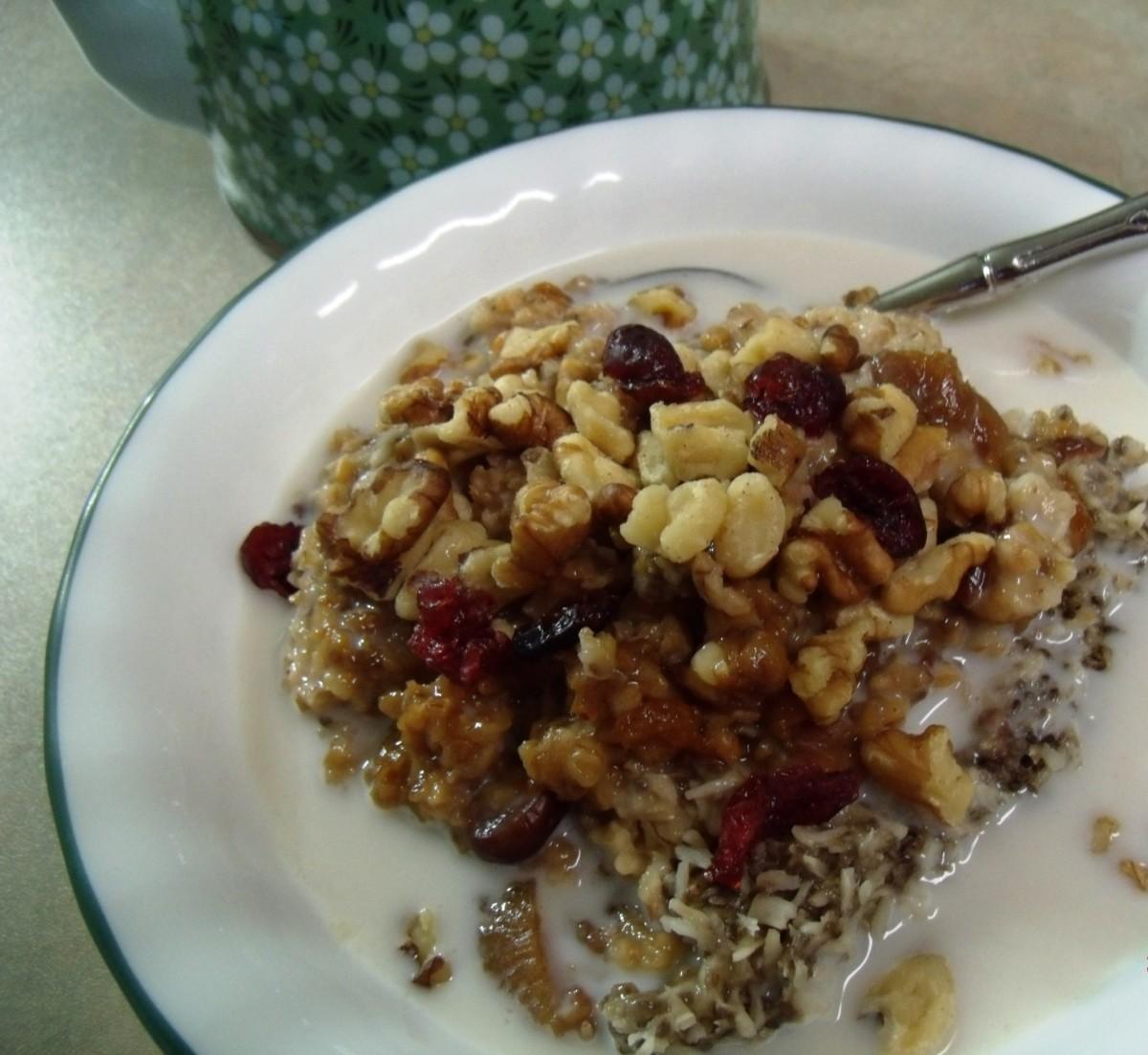 4 Super Nutritious Gluten-Free Slow-Cooker Porridge Recipes
