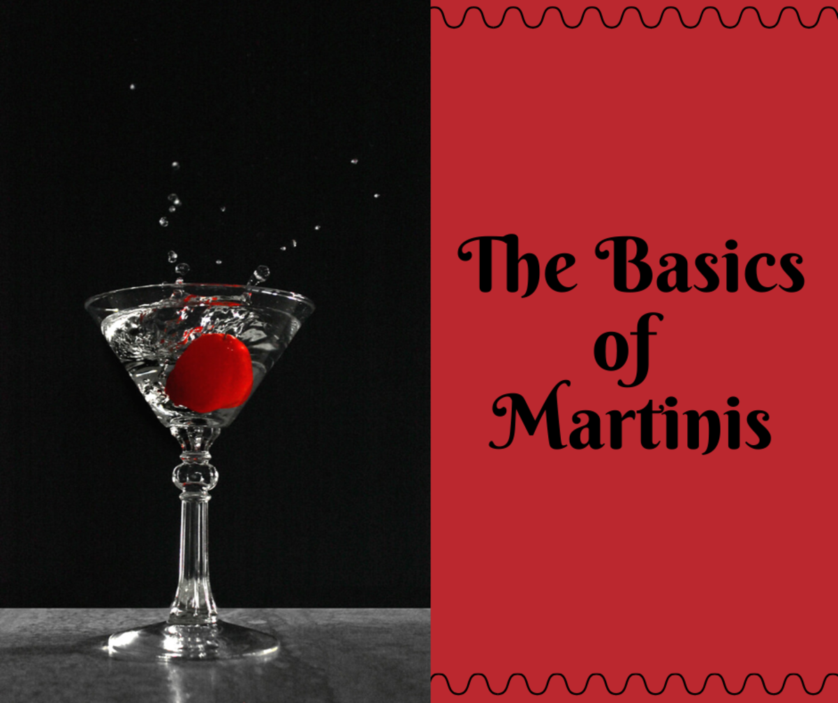Martini Basics for Beginner Bartenders or Servers