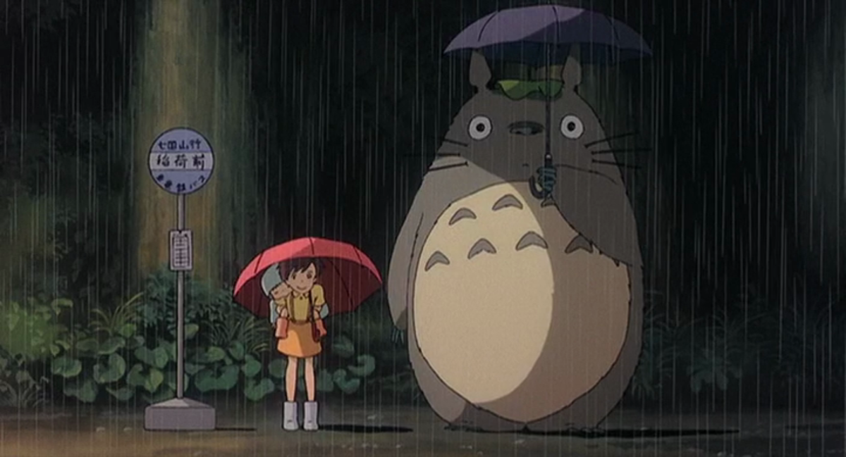 This is probably the most recognizable image from My Neighbor Totoro.