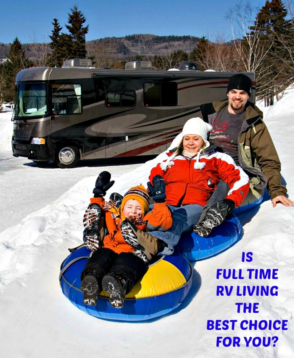 Is full time RV living the best choice for you?