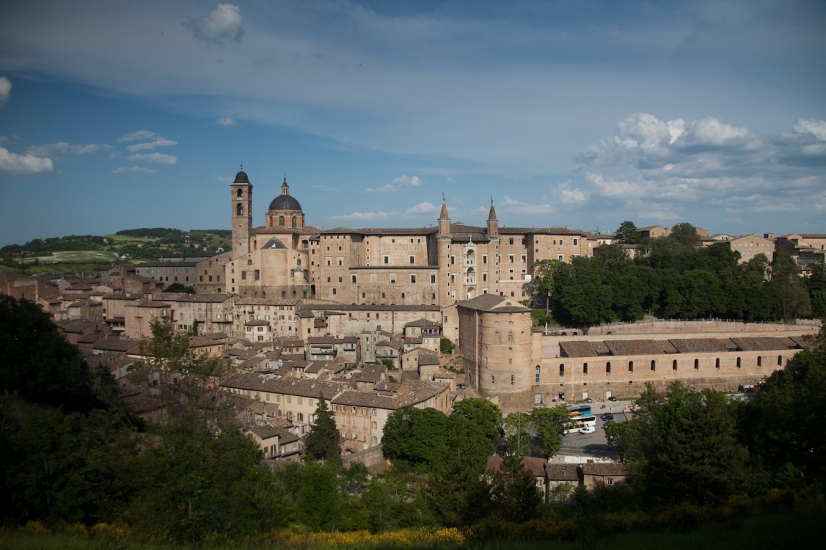 Great places to visit in Italy: Urbino - why you should Raphael's hometown.