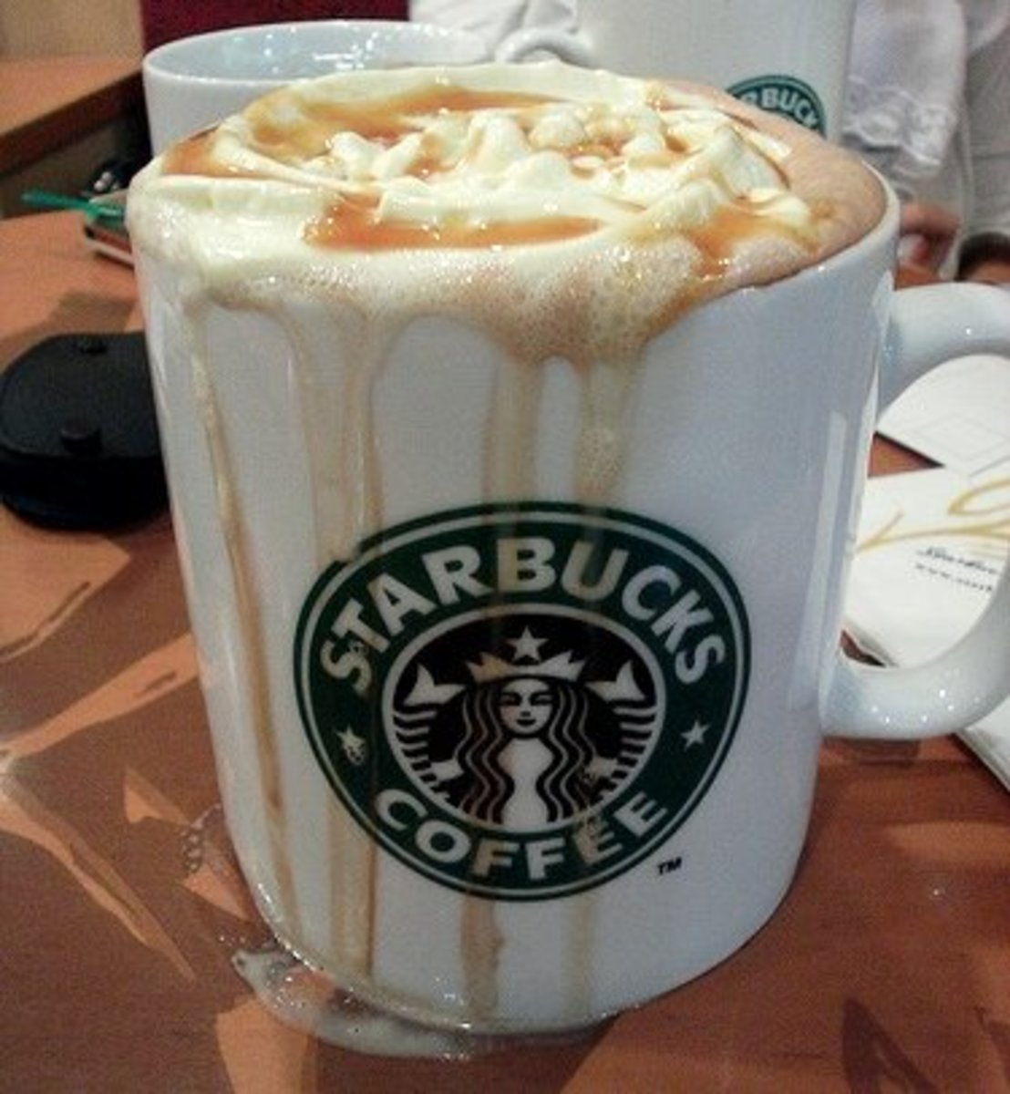 All that caramel and whipped cream may be delicious, but it comes at a price!