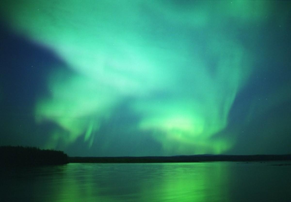 The Aurora Australis In Full Flow