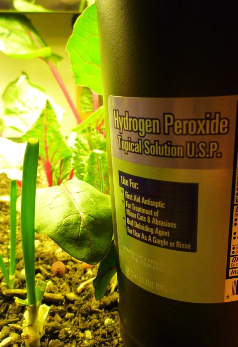 Hydrogen Peroxide for Plants