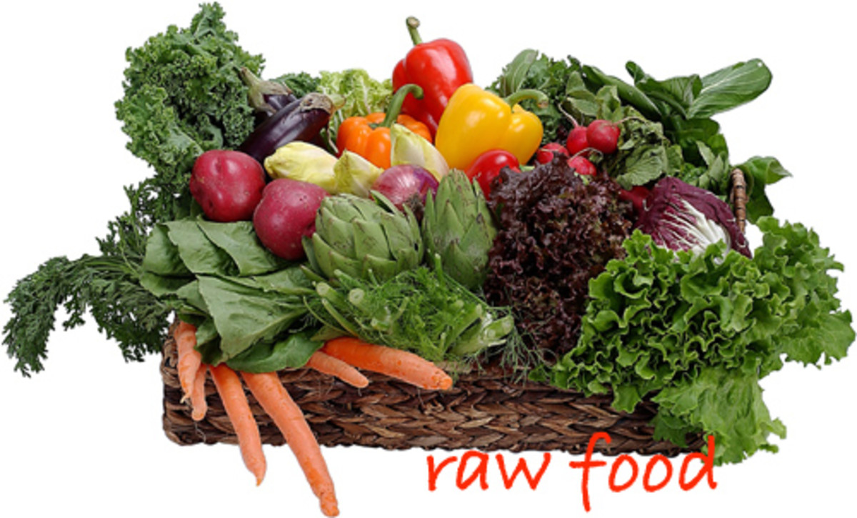 Raw Fruits, Vegetables And Greens When Eaten After Being Freshly Picked Are Packed With More Vitamins, Minerals and Enzymes Than Cooked Foods