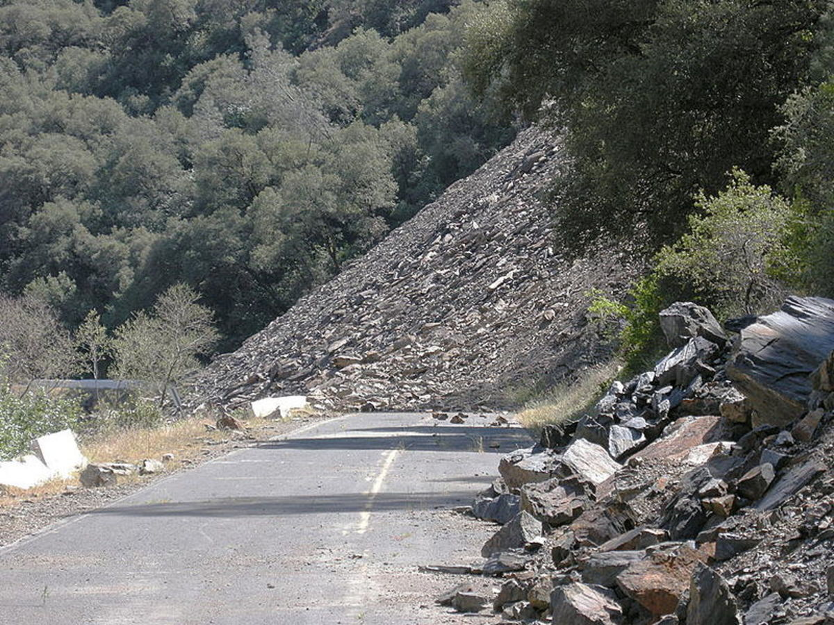 Geologic Hazards What You Need To Know About Mass Wasting Owlcation