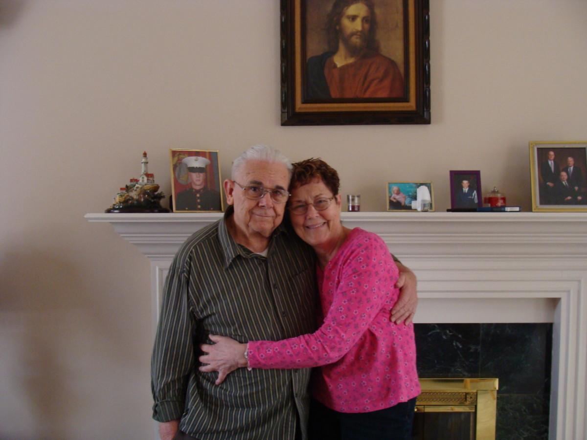 Mom & Dad, February 2012