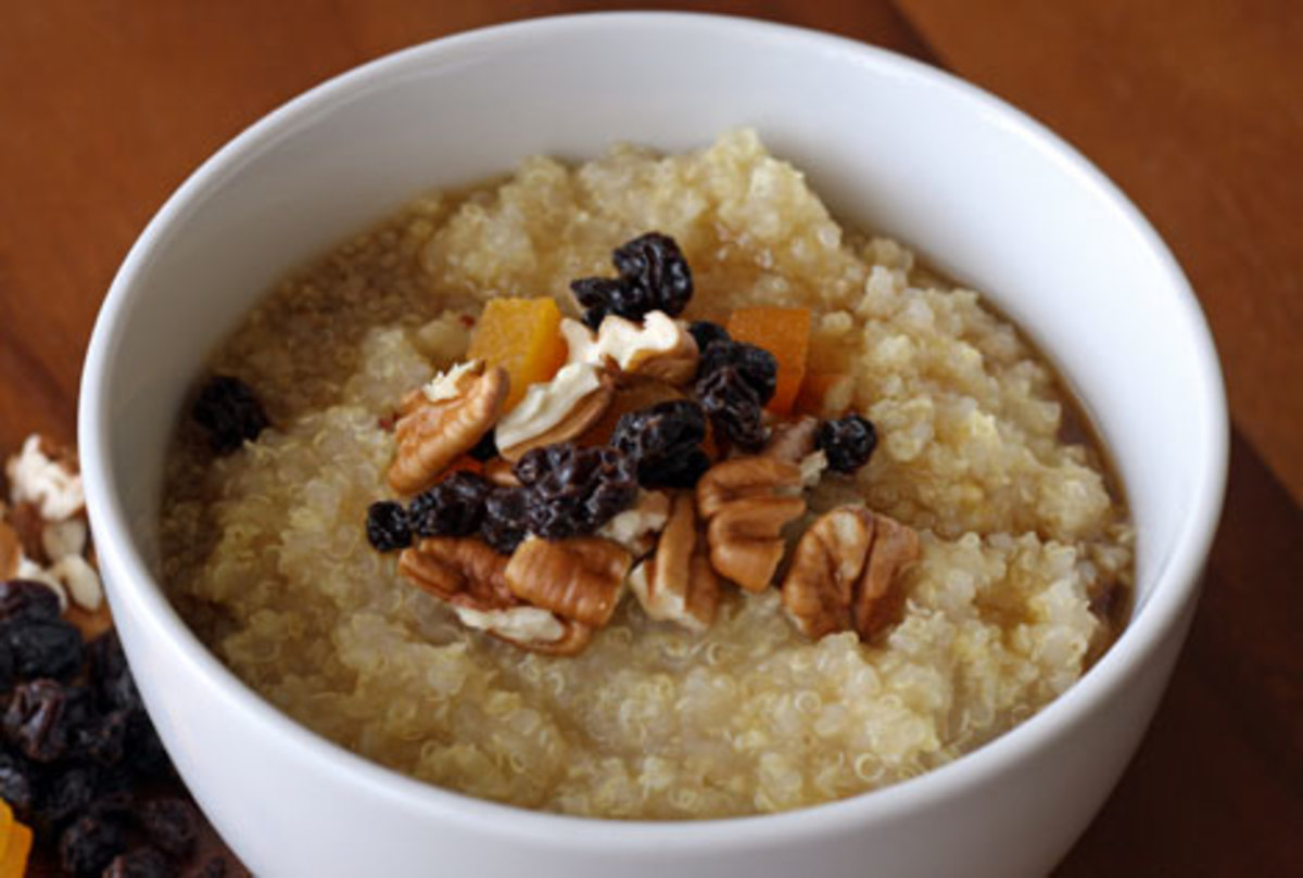 Quinoa and Millet with Nuts