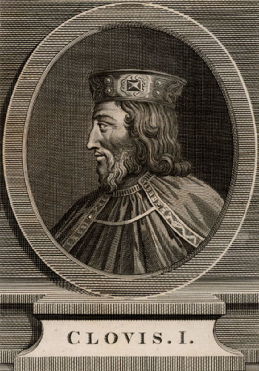 Clovis I, Merovingian king of the Franks