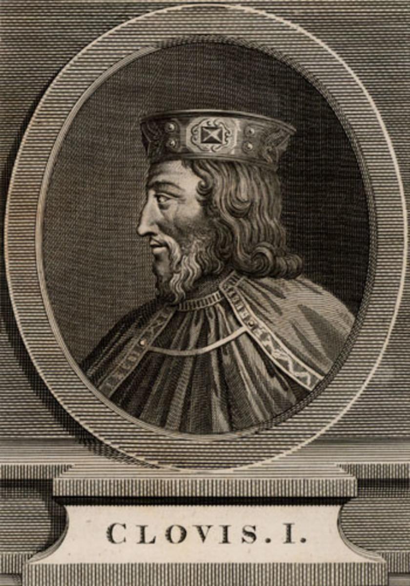 Clovis I, Merovingian king of the Franks