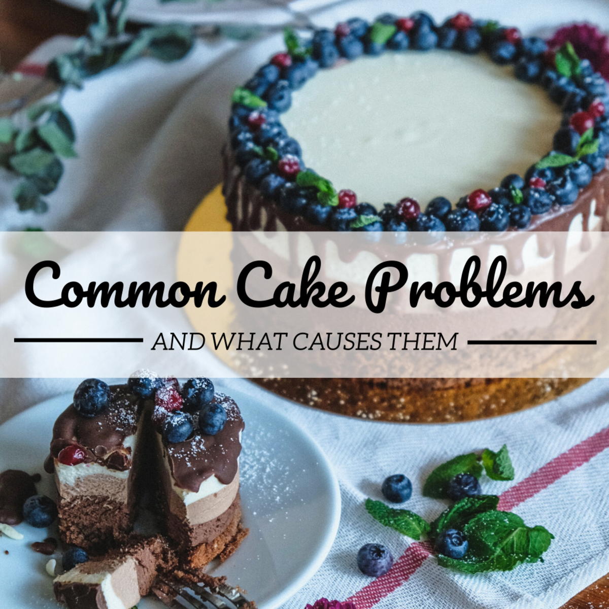 There are many things that can go wrong when baking a cake. Learn how to identify and avoid these 10 common missteps.