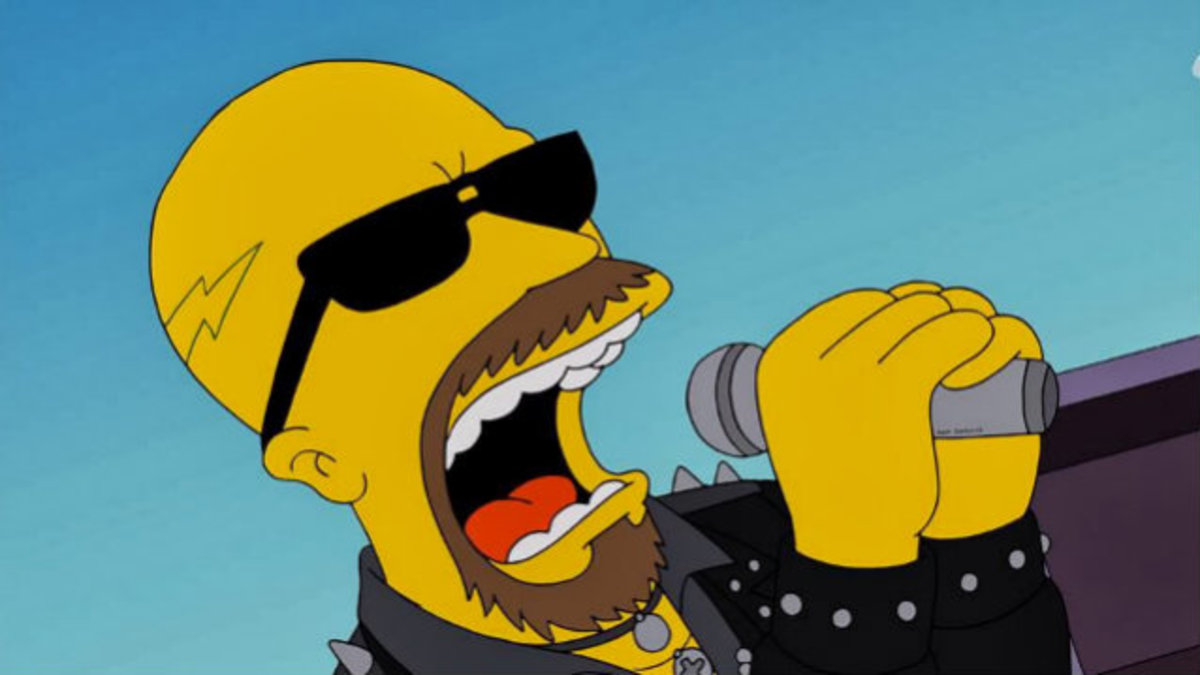 The Simpsons Rock The Best Rock Roll Moments From The Simpsons Reelrundown Entertainment