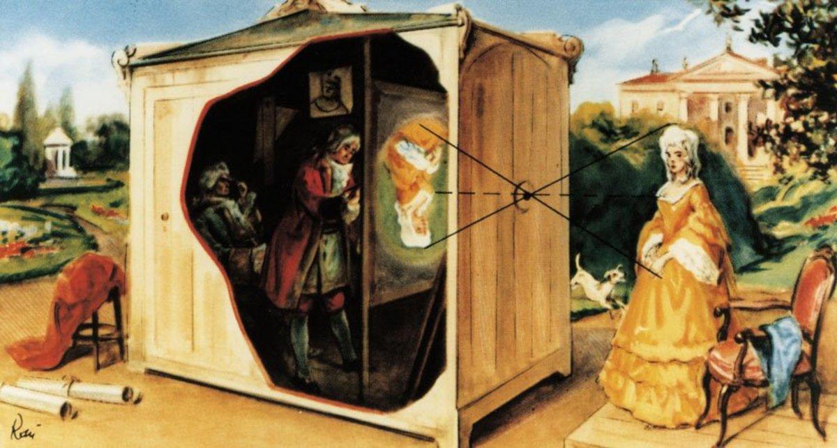 Leonardo da Vinci's Camera Obscura