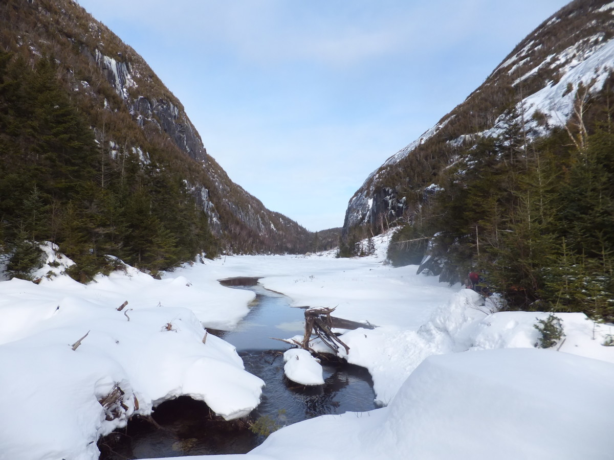 Hiking Cliff and Colden Mountains in the Adirondack High Peaks