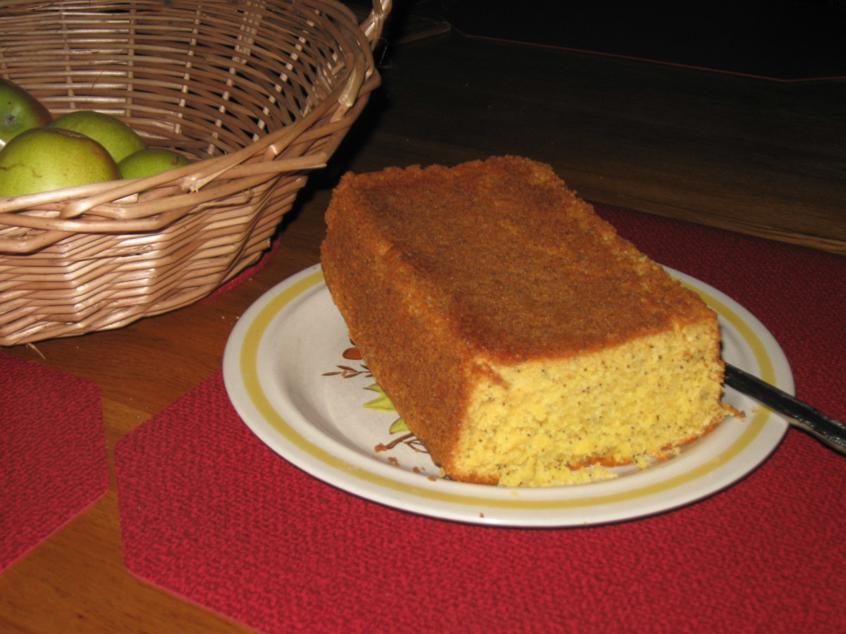 Lemon Poppy Seed Cake Recipe for Imbolc (Brigid's Day)