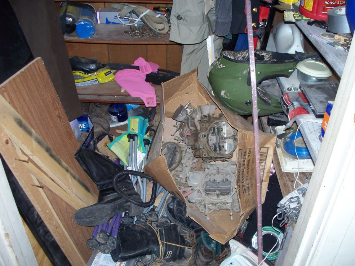Cleaning, Organizing, and Decluttering, the Redneck Way!