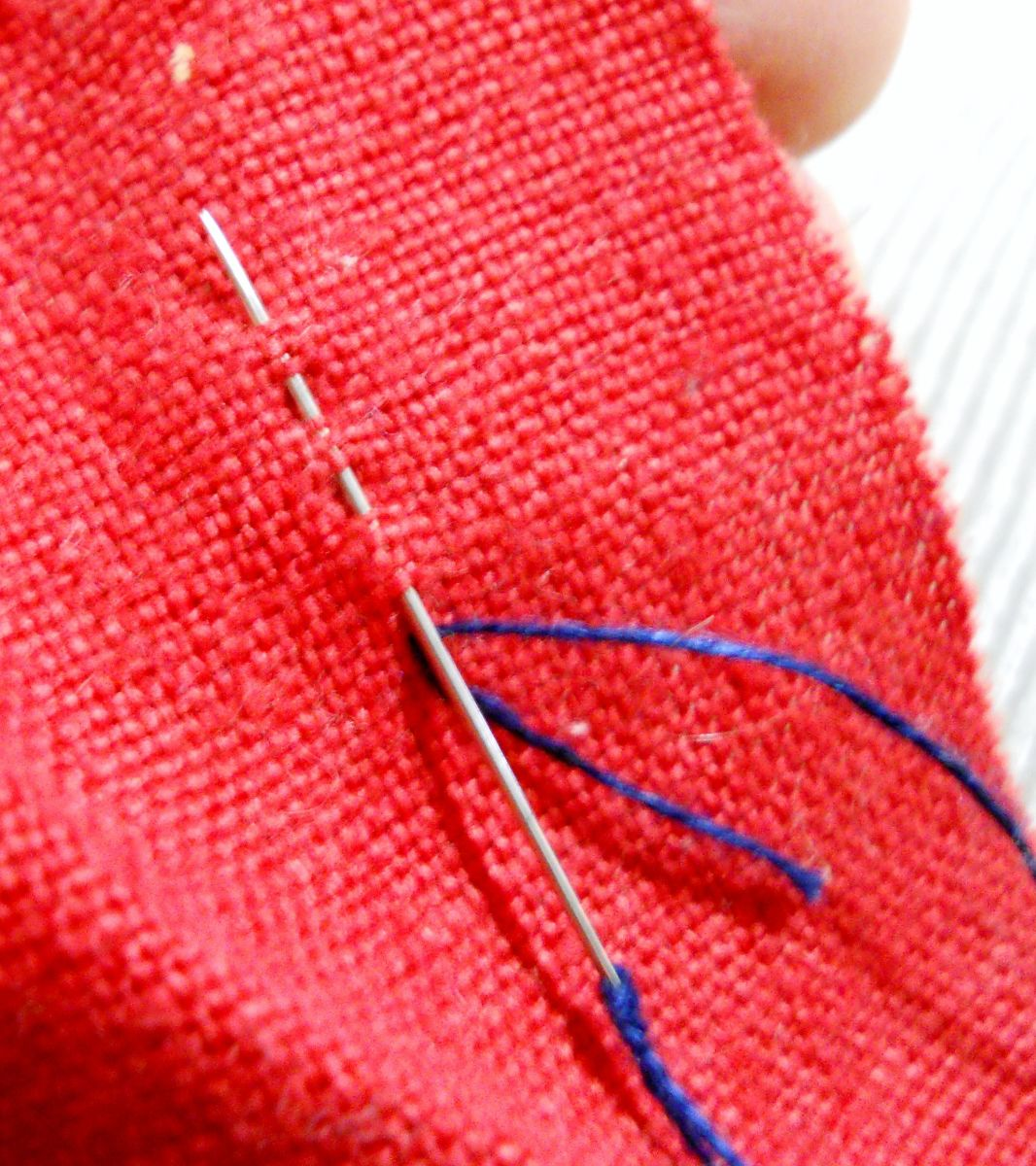 Basic Stitches for Hand Sewing with Step by Step Pictures