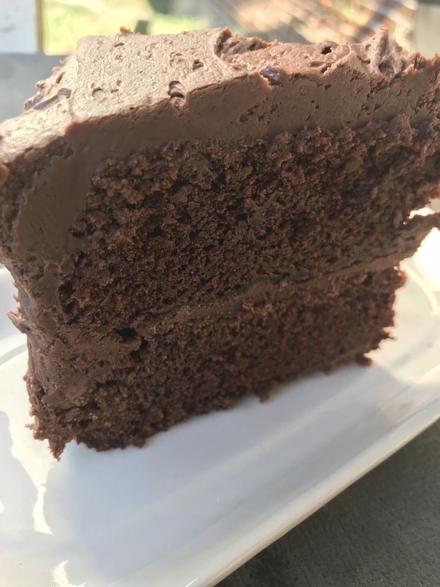 Rich and moist, this chocolate fudge cake recipe is a favorite!