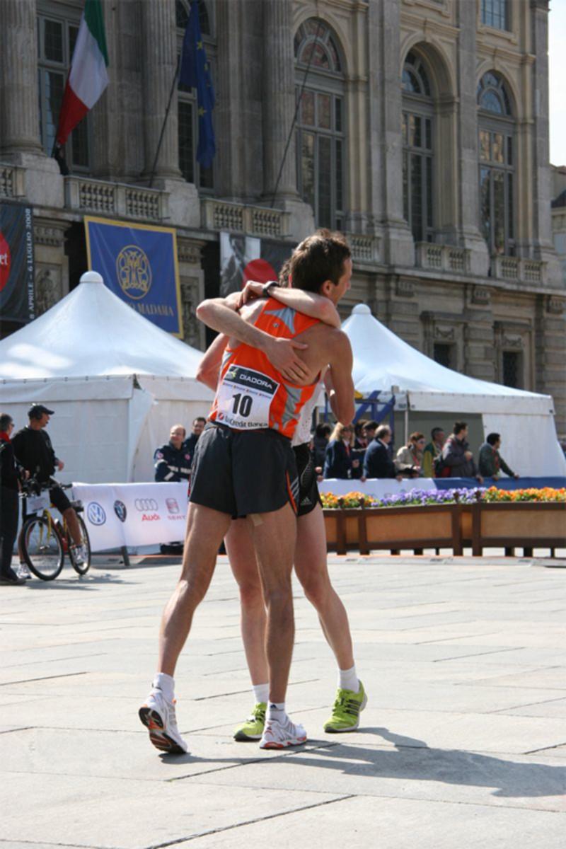 Top Runner Turin Marathon 2008.