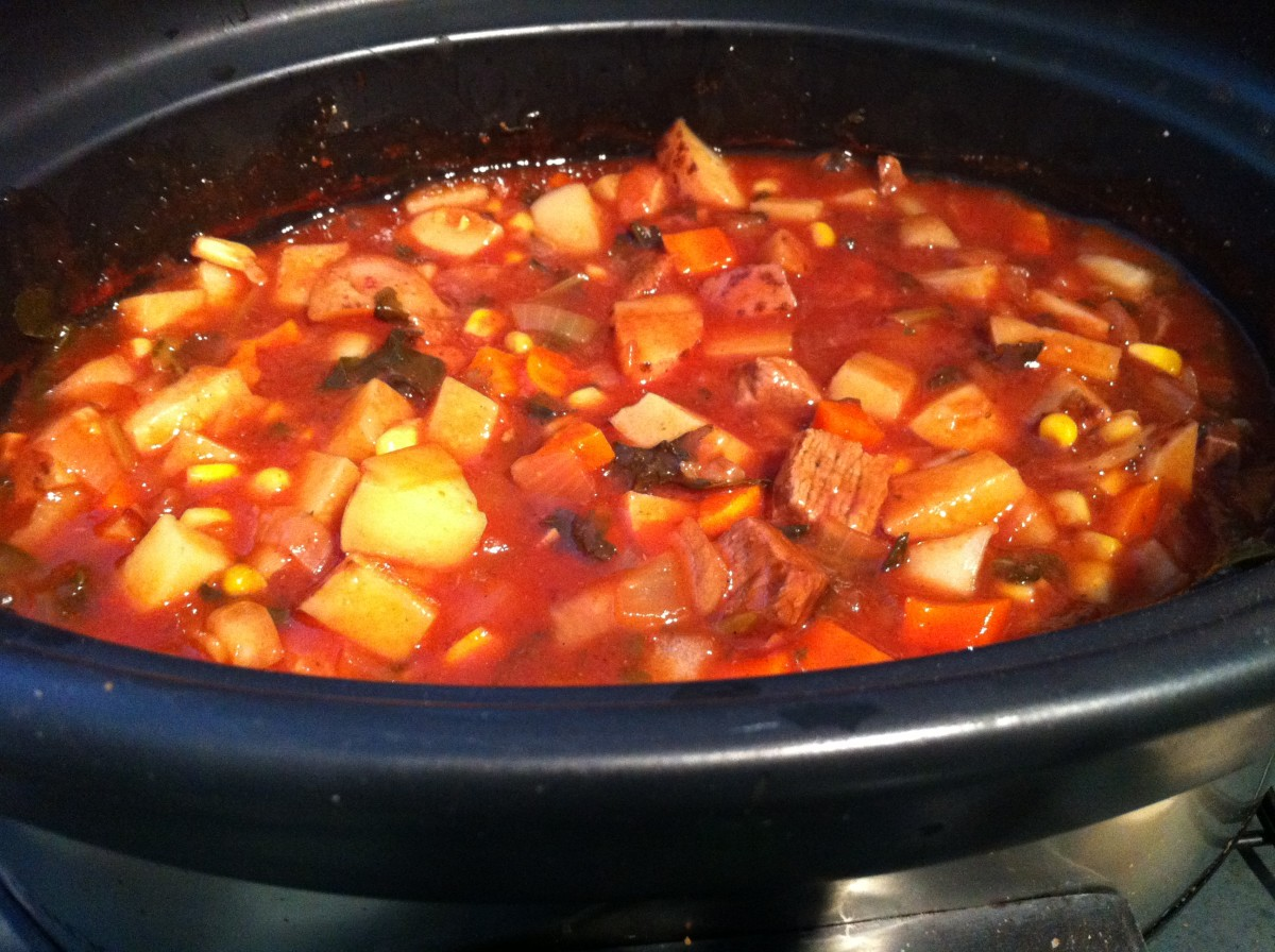 Recipe for Slow Cooker Beef Stew