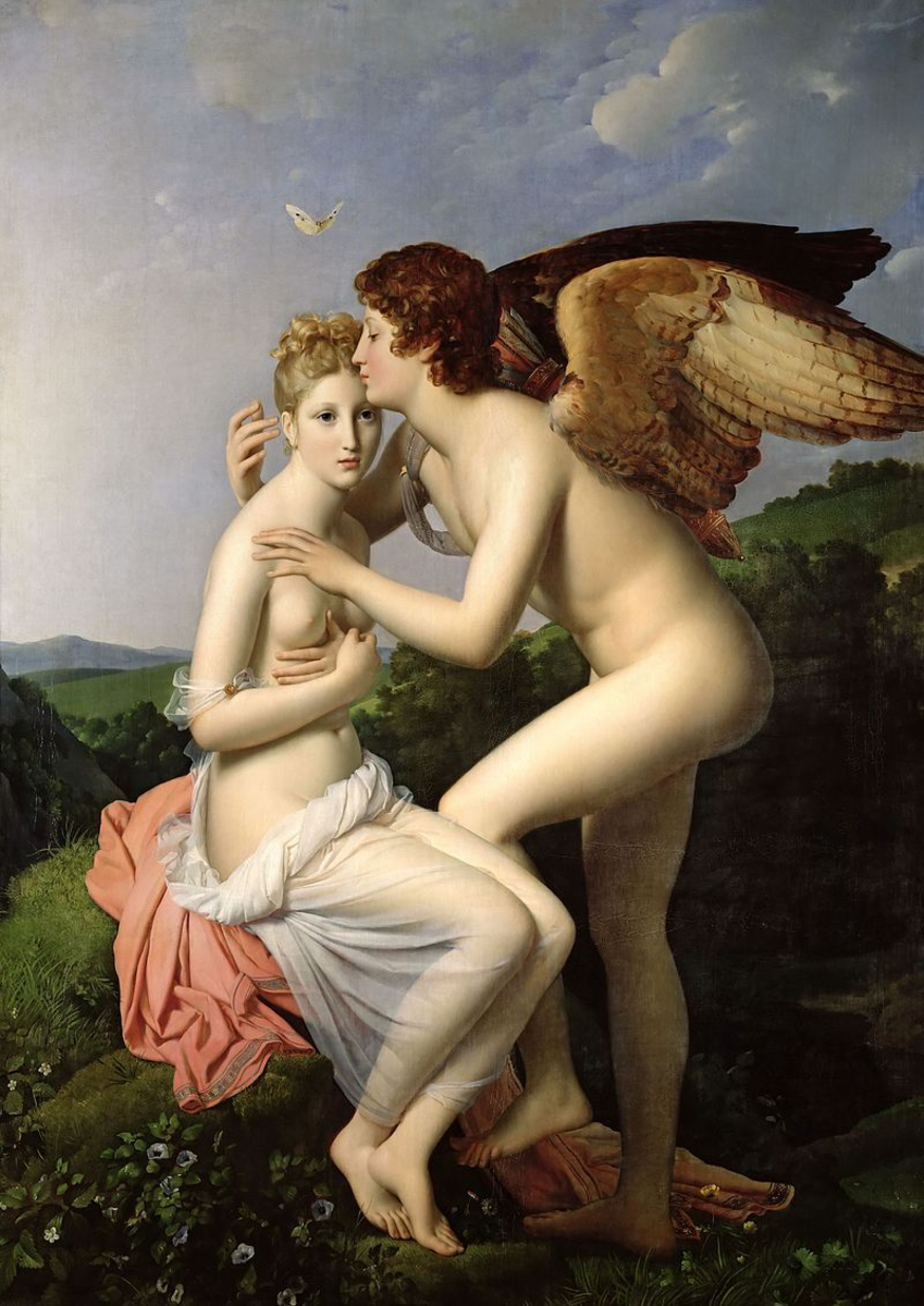 Psyche, Eros, and Their Mother-in-Law, Aphrodite